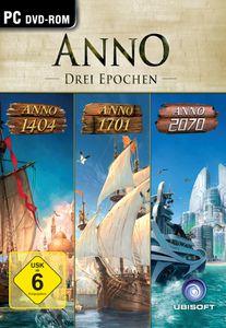 ANNO: DREI EPOCHEN (2070/1404/1701) - CD-ROM DVDBox