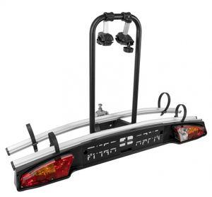 Fahrradträger Merak für 2 Räder Heckträger für Anhängerkupplung eBikes, Auswahl:Standard