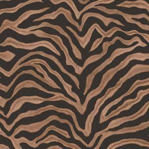 Noordwand Tapete Zebra Print Braun
