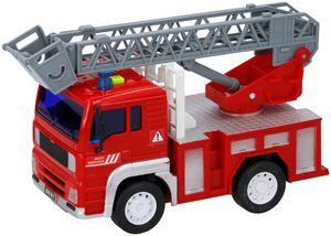 Kinder Spielzeug 1:20 Auto Feuerwehrauto Feuerwehr Leiter Drehleiter Ton Rettung