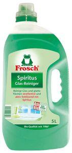 FROSCH Spiritus Glas-Reiniger 3x 5000 ml für Glas, Scheiben in der Küche und Bad