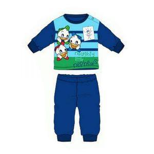 Disney Donald Duck Tick, Trick, Track Baby Schlafanzug, dunkelblau, Gr. 71-86 Größe - 74