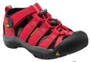 Keen Kinder-Sandale  rot NEWPORT H2 Kids Ribbon Red, Größe:32/33