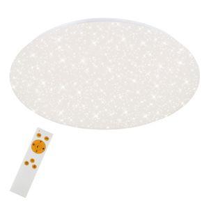LED Deckenleuchte Sternendekor dimmbar CCT 48 W Ø: 49.5cm Briloner Leuchten