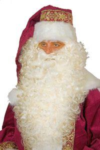 Kostüm Zubehör Nikolausbart superlang weißblond Karneval Fasching