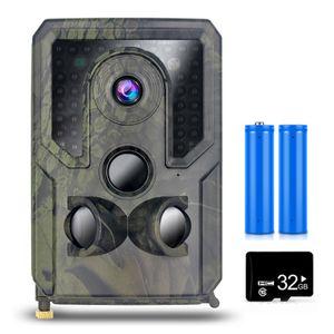 12MP 1080P Trail und Game Camera Motion Aktivierte Jagdkamera Outdoor Wildlife Infrarot Nachtsicht-Scouting-Kamera