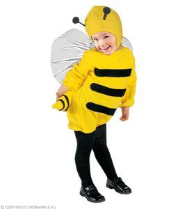 Kleine Biene - Kinder Kostüm 104 +110 cm Bienenkostüm M (104 cm, 2-3 Jahre)