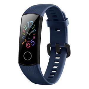 Honor Band 5 Fitness Smart Armband 0,95 Zoll AMOLED Bluetooth 4.2 Smart Watch 5ATM wasserdichte (Blau)