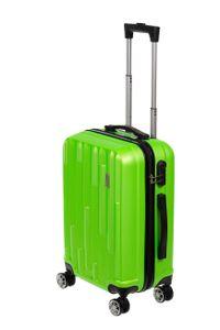 Birendy HT003 Marken Hartschalen Koffer Set Reisekoffer Trolley Handgepäck 55cm, Farbe:Hellgruen, Größe:L - Handgepäck 55x35cm