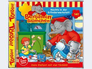 CD Benjamin Blümchen #141Nachts in der Erfinderwer