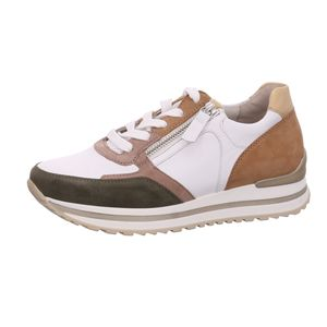 Gabor Shoes     weiss komb, Größe:91/2, Farbe:weiss/oliv/caram.k 1