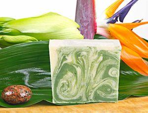 Naturseife Aloe Vera 100g, Handseife vegan, natürlich basische Seife