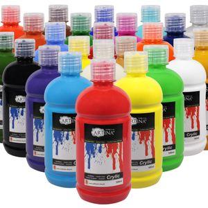 Artina Farbset Acrylfarbenset 24 x 500 ml