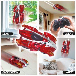 Flash Car® by Racing Wall - ferngesteuertes Spielzeugauto mit Vakuumtechnologie
