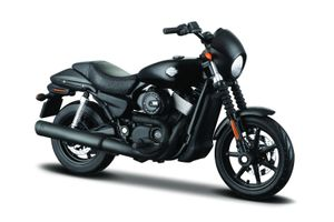 Maisto 34360-35 - Modellmotorrad - HD Serie 35, Modell:2015 Street 750 schwarz