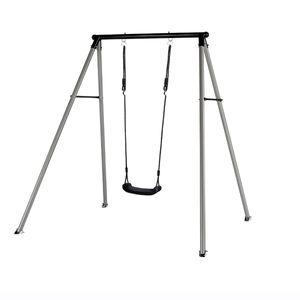 Hörby Bruk schaukel Solo 115 x 185 cm Stahl schwarz/silber