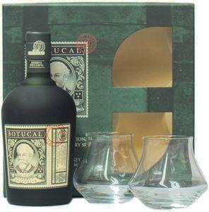 Botucal Reserva Exclusiva mit 2 Gläsern Geschenkbox   40 % vol   0,7 l