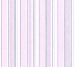 A.S. Création Vliestapete Little Stars Ökotapete metallic rosa weiß 10,05 m x 0,53 m 358494 35849-4