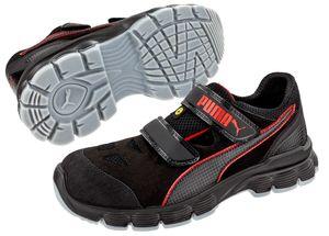 PUMA Sicherheitssandale S1P 640891 AVIAT LOW Sicherheitsschuhe Arbeitsschuhe VEGAN, Schuhgröße:45
