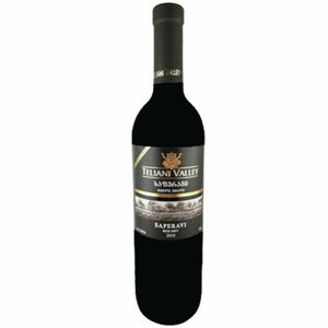 Teliani Valley Rotwein Saperavi 0,75L georgischer Wein trocken dry wine
