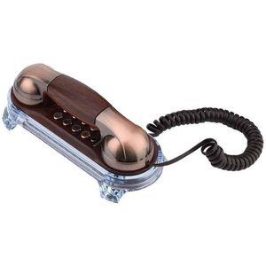 Mllaid Schnurgebundenes antikes Telefon,Retro Wandtelefon Schnurgebundenes Telefon Festnetztelefon Mode Telefon für Haus Hotel