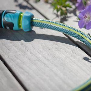 """REHAU Gartenschlauch Set Cool Touch 1/2"""" 25 m Wasserschlauch für Bewässerung SET"""