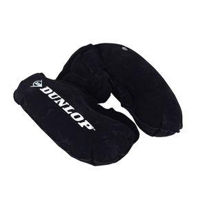Dunlop pVC schwarzes aufblasbares Nackenkissen