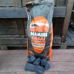 10 Kg Namibi Braii Holzkohle Steakhaus Qualität
