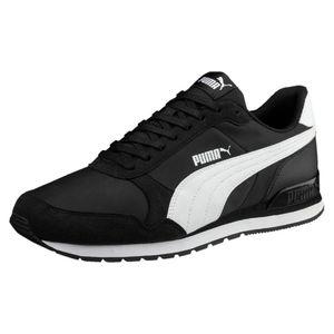 PUMA Runner Low Sneaker Schwarz Schuhe, Größe:43
