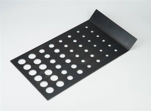 Landmann Konvektionsplatte für Smoker und Grills Stahl Schwarz 15506