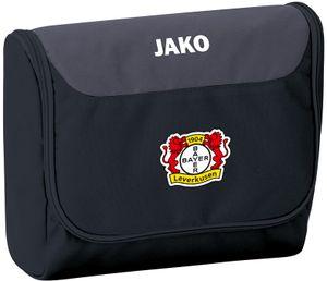 JAKO Bayer 04 Leverkusen Kulturbeutel Striker schwarz/grau