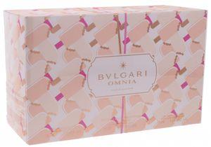 Bvlgari Bulgari Omnia Crystalline EdT 65ml + Lotion 75ml + Shower Gel 75ml + Tasche