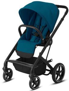 CYBEX Balios S Lux - Buggy , Cybex Kinderwagen Gestell:Black, Design::River Blue