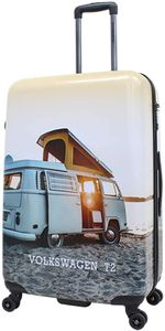 Motiv Bulli T2 Camper Bus Reise Koffer Trolley 4 Rollen 78 cm groß bei Bowatex