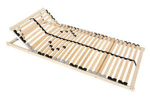 7-Zonen Lattenrost ERGO 80x200 90x200 100x200 Kopfteil verstellbar , Betten-Abmessung:90 x 200