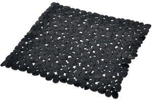 Duschmatte Duscheinlage Duscheinsatz 52x52 cm schwarz Bad Kinder Antirutschmatte