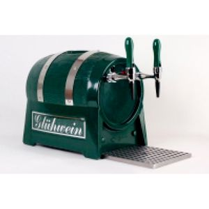 Getränke-Durchlauferhitzer 3kW , Fassform , 1-leitig, mit elektrischer Pumpe
