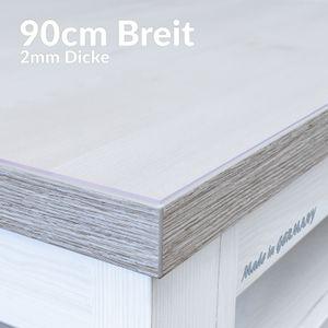 Tischschutz 2mm MATT 160x90cm Tischschutzfolie Tischfolie Auflage