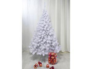 Weihnachtsbaum Christbaum Baum Tanne Tannenbaum Weihnachten Weiß künstlich 90cm