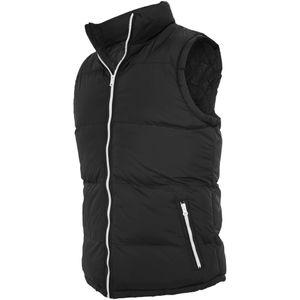 Urban Classics Contrast Bubble Vest, Größe: S; Farbe: Black/White