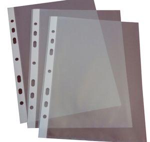 proOFFICE Prospekthülle DIN A5 PP-Folie genarbt Stärke: 0,055 mm (100 Hüllen)
