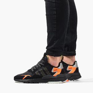 adidas Originals Nite Jogger Boost Herren Sneaker Schwarz, Größenauswahl:44