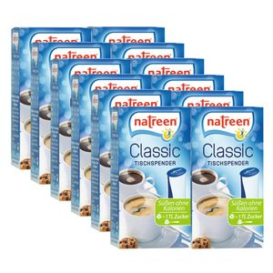 NATREEN Classic Tabletten Süßstoff 12 x 500er Tischspender Feine Süße Tafelsüße