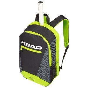HEAD Core Backpack Rucksack Schwarz Gelb