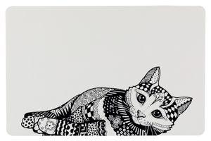 Trixie, Napfunterlage Zentangle 44 × 28 cm