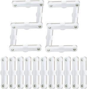 Magnete, 22 PCS Selbstklebende Magnete Permanentmagnet rechteckig Seltenerdmagnete Seltener Magnetstreifen seltene Erden Magnetics für Fenstergitter Fliegengitter Insektenschutz