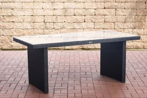 CLP Tisch Avignon, Farbe:schwarz, Größe:180 cm
