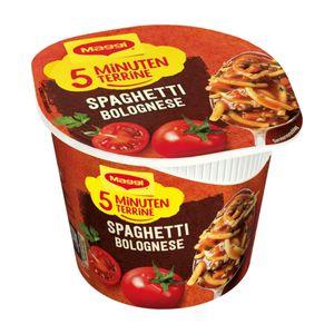 Maggi 5 Minuten Terrine Spaghetti Bolognese Fertigpackung 62g