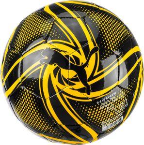 PUMA BVB Future Flare Fan Mini Ball Ball Schwarz-Cyber Gelb, Größe:MINI