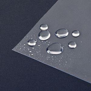 Tischfolie Tischdecke Durchsichtig Transparent Abwaschbar Tischschutzfolie 0,3mm, Größe:100x160 cm
